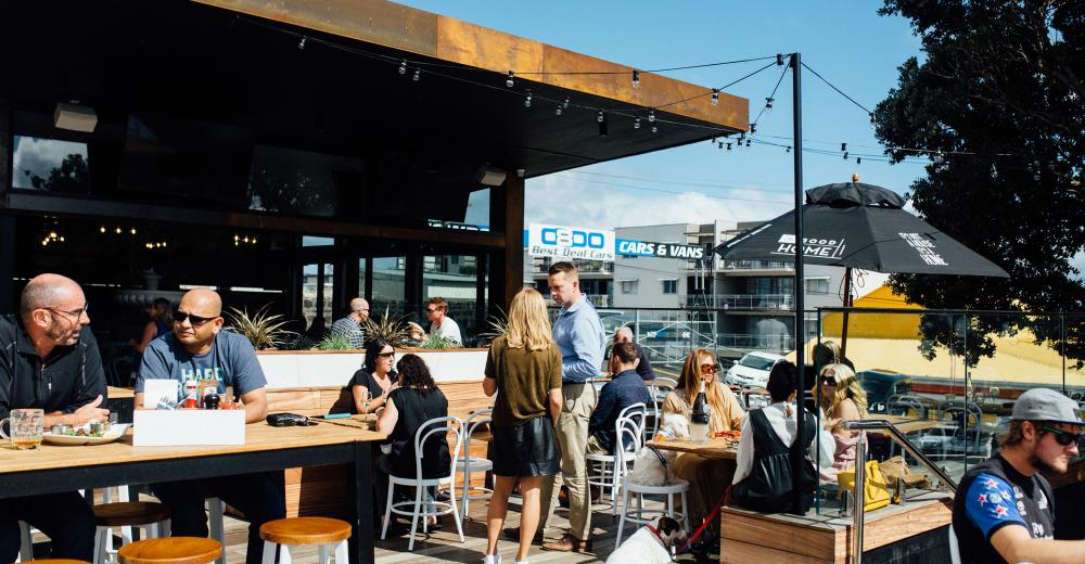 Onehunga - Beer Garden Photo